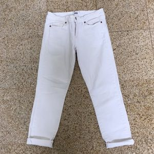 White Paige jeans - Kylie Crop